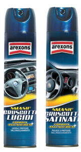 12 pz lucido spray per cruscotto areoxons smash lucida cruscotti 400 ml