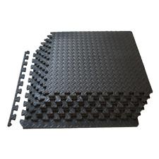 24 SQ FT Interlocking Foam Mats 6 Tiles Gym Garage Workshop Floor Mat UK BU