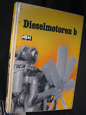 VAM Book Dieselmotoren b (Nederlands) (JvH) ex-bibliotheekboek