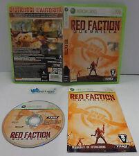 Consolle Game Gioco Microsoft XBOX 360 ITALIANO THQ - RED FACTION GUERRILLA -