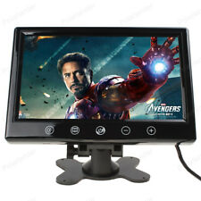9 inch Car Monitor TFT Color LCD Screen 2 Video input Work for DVD/VCD/amera/STB