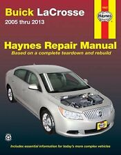Haynes Repair Manual for 2005 thru 2013 Buick LaCrosse (Does not include info