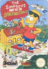NES - The Simpsons: Bart vs. The Space Mutants PAL-B mit OVP sehr guter Zustand