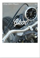 Greasy Kulture Magazine 41 GKM Harley Triumph Sportster FLH Shovel BSA iron FX