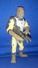 Star Wars Bossk the Bounty Hunter 2004 figure with weapon loose ESB
