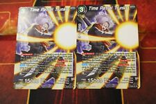 2x Time Patrol Trunks EX02-01 EX Non FOIL Dragon Ball Super LIMITED EDITION M/NM