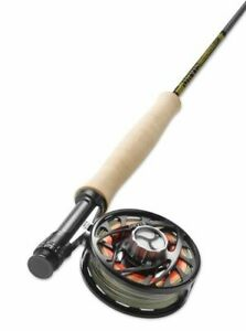 NEW SPECIAL EDITION OLIVE COLOR ORVIS HELIOS 3F 905-4 9' FT #5 WT 4 PC FLY ROD