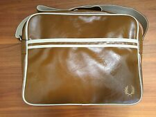 Fred Perry Classic Shoulder Bag DESC Navy 100 Genuine