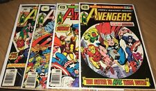 LOT OF 4 - AVENGERS #146,148,149 & 150 - $.30 CENT VARIANTS - (Low-Mid Grades)
