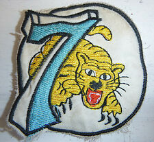 FLYING TIGERS - Patch - USAF - 7th AIR FORCE - WWII - USAAF - Vietnam War - 3403