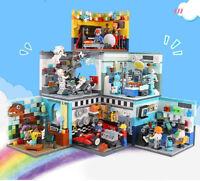 Xingbao Building Blocks Future Dreamer Mini Model Figure Toys Gift Kids DIY 6PCS