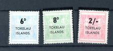 Tokelau QEII 1966 set of 3 SG6/7  MNH