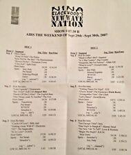RADIO SHOW: NINA BLACKWOOD NEW WAVE 9/29/07 SOFT CELL, FIXX, POGUES, STRAY CATS