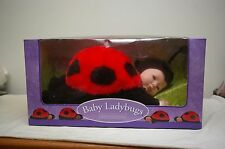 "1998 Anne Geddes 16"" Sleeping Ladybug Baby Doll - No. 526523"