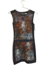 New With Tags Rachel Roy Sleeveless Short Stretchy Bodycon Dress Black Xs $99