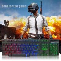 IMICE AK-600 USB Wired Backlight Game Keyboard Ergonomic 104 Key Keyboard
