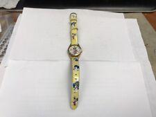 Original 'Minnie' Walt Disney Watch With Original Band Watch Works Really Well