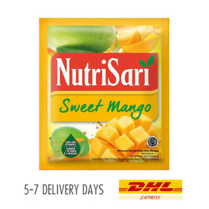 [NUTRISARI] Vitamin C Mineral Halal Drink Powder Sachet Sweet Mango 40x11g