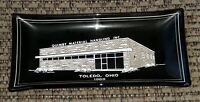 QUIMBY MATERIAL HANDLING INC Toledo Ohio ADVERTISING Glass Ashtray 1969 Business
