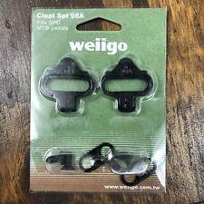 Wellgo SPD Cleats WPD-98A Clipless fits Shimano SH-51 SH-56 Pedal Mountain Bike