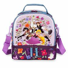 Disney Store Lunch Tote Rapunzel - Tangled : The Series School 2017 Nwt