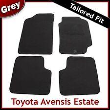 TOYOTA AVENSIS Estate 1997 1998 1999 2000...2003 Tailored Carpet Car Mats GREY