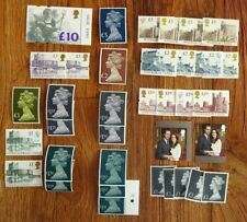 Great Britain £ 828 face value stamps GB discounted cheap postage 27% less £ 606