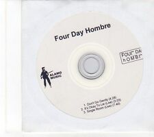 (EY696) Four Day Hombre, Don't Go Gently - DJ CD