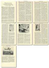 1930 Sensational Achievements With Radiotelephone For Flying