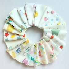 2XBaby Infant Towel 30*30cm Muslin Towel Handkerchiefs Two Layers Wipe Towel NTF