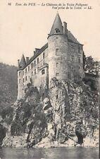 dintorni del PUY - le château la chiave di volta Polignac , vista tiro La Loire