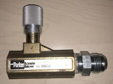 Parker 003381104 338 Series Brass Needle Valve, 3/4