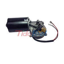 High Torque 12V 50RPM Reversible Electric DC Worm Gear Motor 6N.m Right Angle