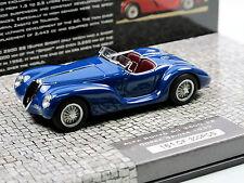 Minichamps 437120232 - 1939 Alfa Romeo 6C 2500 SS Corsa Spider - blue - 1/43