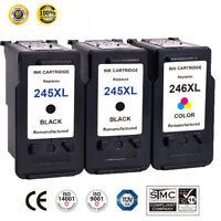 3PK PG-245XL CL-246XL Ink For Canon PIXMA MG2920 MX490 MX492 MG2520 MG2522