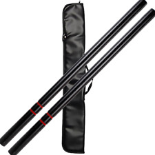 "26"" Black Hardwood Escrima Stick Set"
