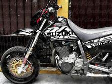 Suzuki DR650 GRAPHIC KIT SUPER MOTARD BLACK PLASTICS (1996 - 2018 )