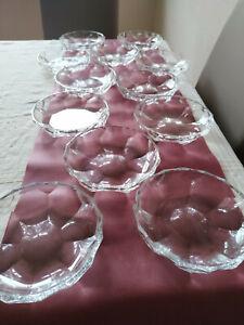 6 Dessertschalen Nachtisch Nachtmann (Alexandra) Bleikristall