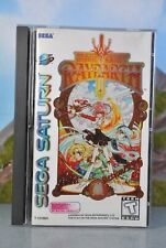 Sega Saturn Magic Knight Rayearth mit Beschreibung & Stickern COMPLETE NTSC