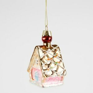 Sass & Belle Princess Gingerbread House 3D Bauble Hanging Decor Christmas Tree