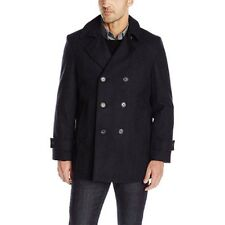 $450! NWT Tommy Hilfiger Men's Brady Wool Charcoal Peacoat Coat Jacket XL 48R