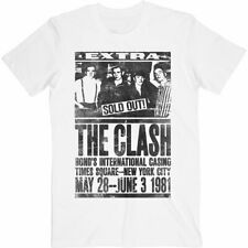 The Clash 'Live At Bonds, NYC 1981' T-Shirt *Official Merchandise*