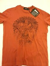 DSQUARED2 t-shirt XL In wine red S71GD0337