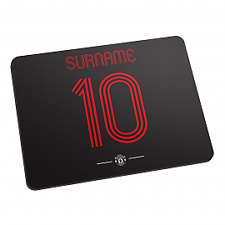 Manchester United F.C - Personalised Mouse Mat (Retro Shirt)