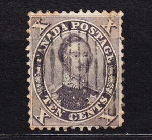 1859 British Canada #17b Good Used Example Ten Cents Prince Albert
