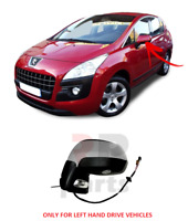 FOR PEUGEOT 3008 09-13, 5008 09-16 WING MIRROR 9 PIN INDICATOR FOLDING LEFT