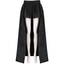 Asli Polat Black High Waisted Caped Shorts FR40 UK12