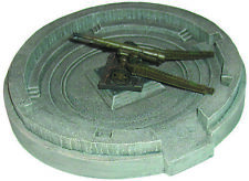 Artmaster 80.489 Offene Ringbettung mit 155 Kanone H0 1:87 Keramik Bunker