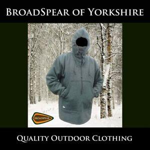 Bushcraft Shirt Smock / Large / 75% wool / Olive Green