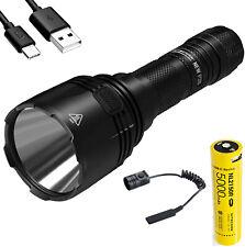 NEW P30 1000Lm LED Flashlight w/NL2150HPR 21700 battery & RSW3 remote switch